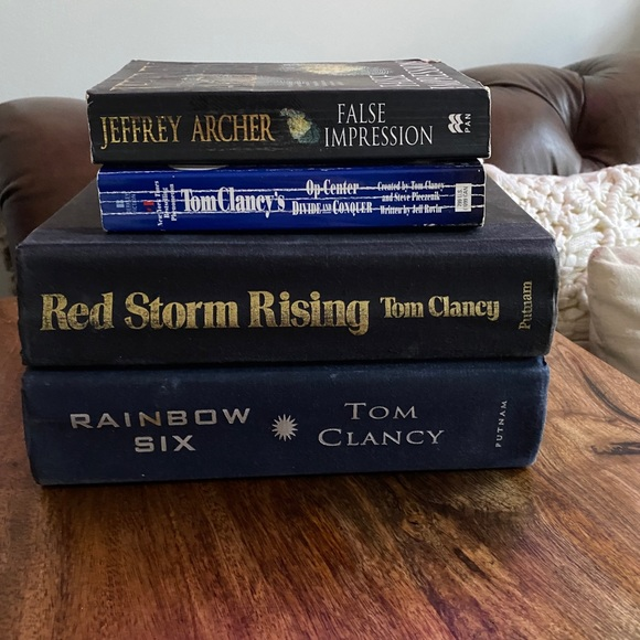 tom clancy book bundle